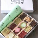 Cake slice box